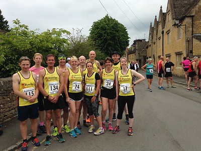 Bourton Hilly Half 2016