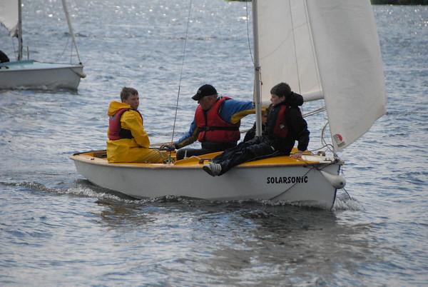 Sailing Weekend at Bewl
