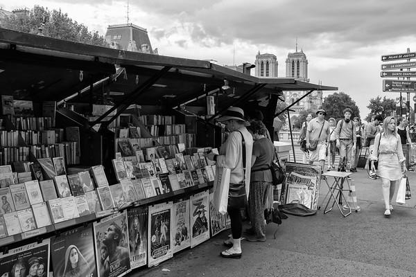 Paris Sort/Hvid