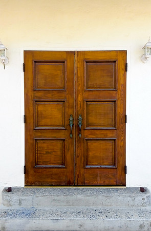 California Public Library Door
