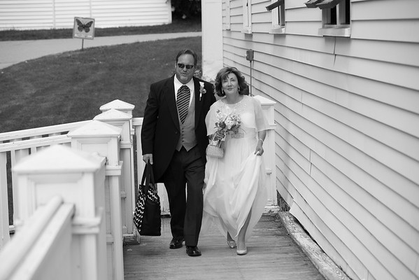 Mark + Patty Elopement Mackinac Island Photography by Paul Retherford
