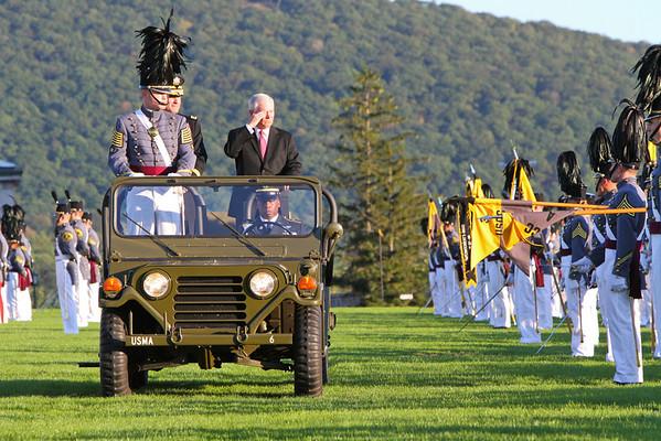 Thayer Award Parade and Old Corps Photos