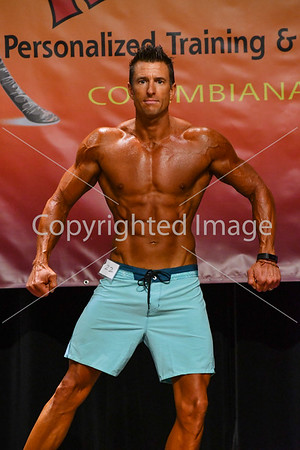 Men's Masters Physique Prejudging
