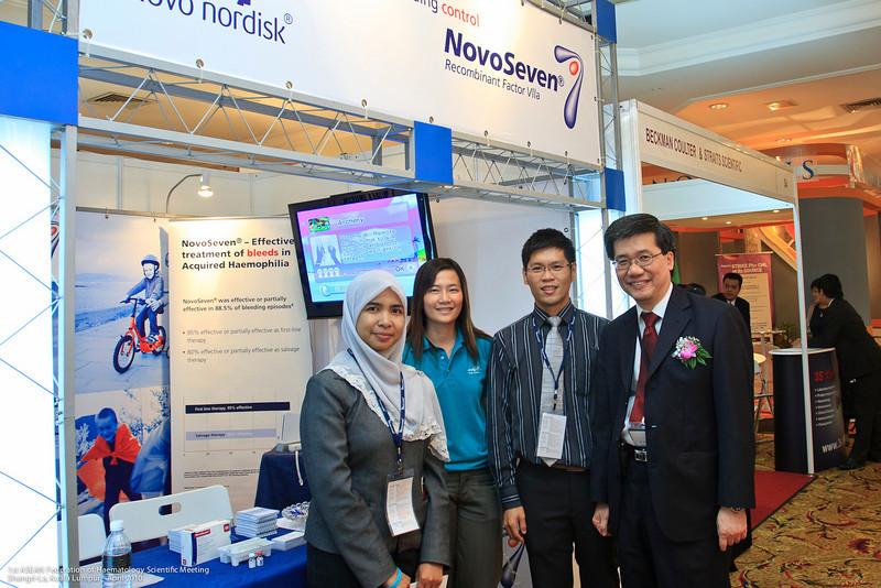 Ruaida Hasbullah, Shook Lin, Alan and Dr Ng