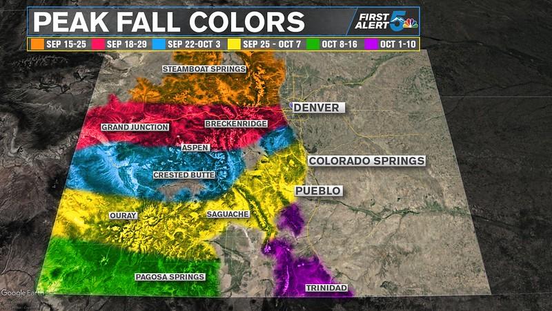 Fall Colors Predictions