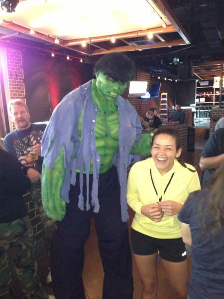 Arrrrrgh!  Hulk smash!