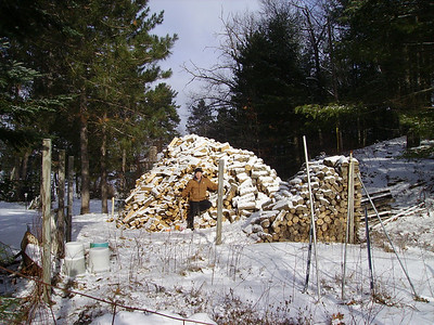 Dad's Woodpiles