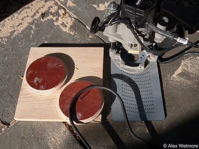 Wooden Bending Form