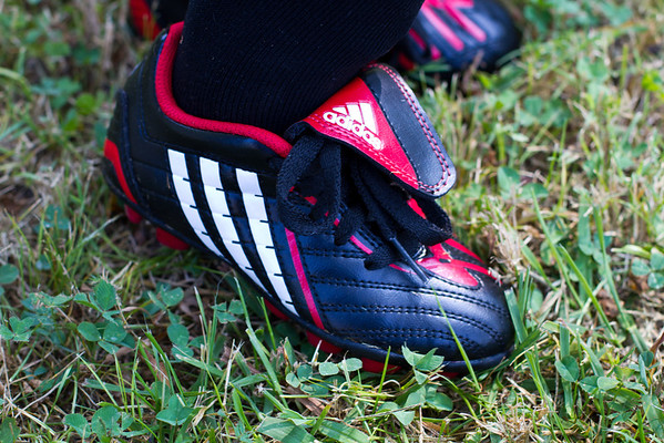 Got my Soccer Shoes