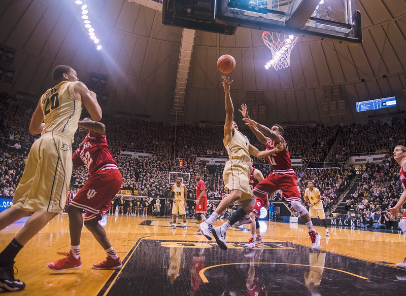Purdue vs Indiana University Basketball 2014