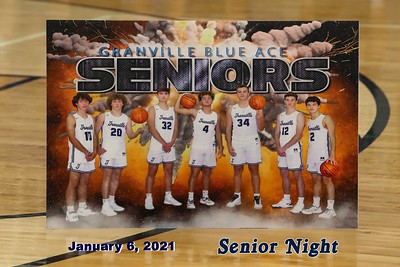 2021 Senior Night (01-06-21)