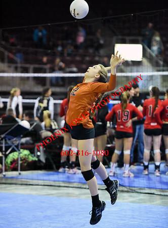11-6-2015 - Desert Edge vs Snowflake - AIA D3 Playoff - Varsity Volleyball