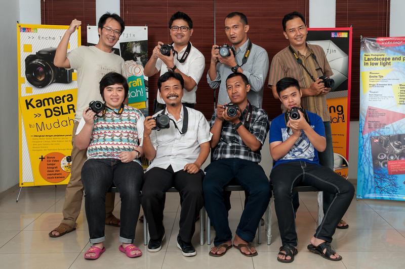 Kelas dasar fotografi & lighting malam