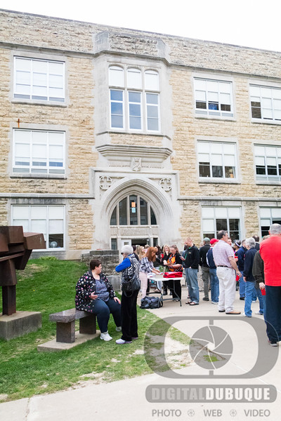 Dubuque Senior Courtyard Alumni Party