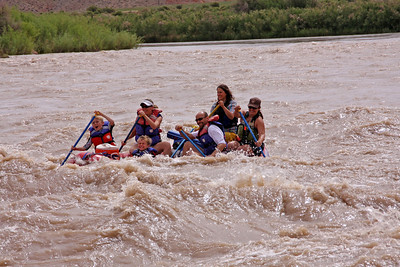 Day 11 - (Thurs) Moab Rafting Colorado Ride & Rodeo