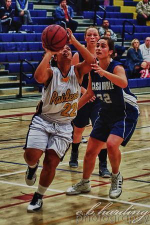 10-12-07 RCHS JV Girls Basketball vs Casa Robles