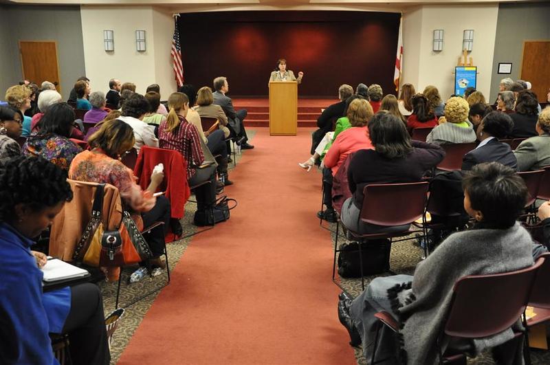Deborah Fout, Director @ Homewood Public Library welcomes everyone.jpg