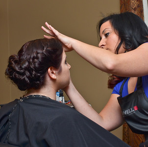 Getting Ready for Wedding Ceremony at Welcome to Venus Salon and Day Spa Phoenix NY (Part 1 of 2)