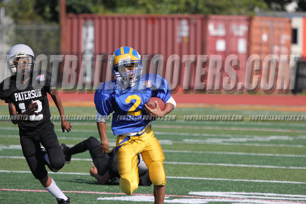 2012 Paterson Pee Wee Bulldogs Vs Paterson Jr State Colts