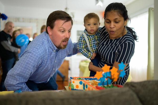 Victor's 1st Birthday in Santa Cruz