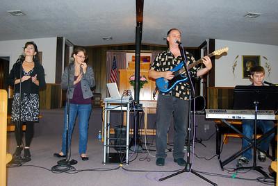 Ellis Family at Crane Assembly of God