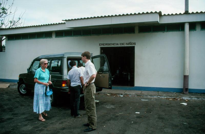 Nicaragua - project hope visit