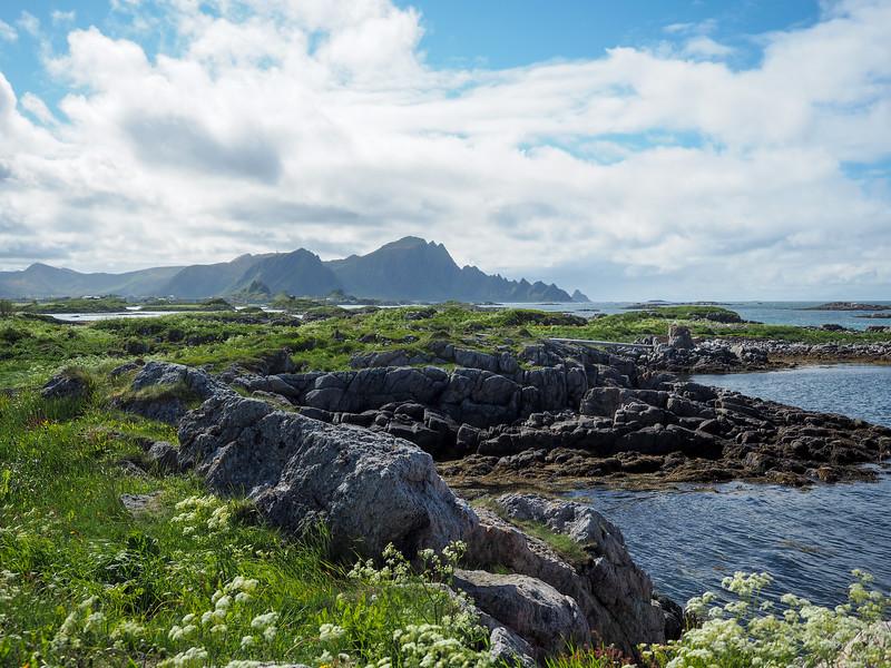 Sea views in Andenes, Norway