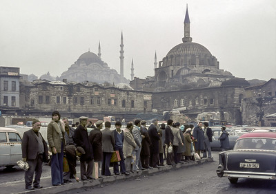 Istanbul Streets 1977