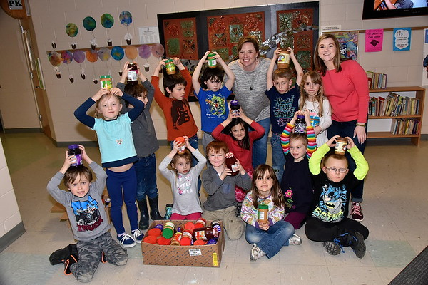 Fisher's PB & J Challenge Winners… Mrs Mckeighan's Kinderdergarten photos by Gary Baker
