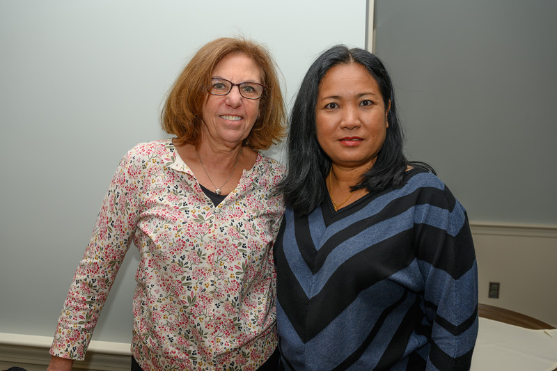 Janet Roman, Banpsip (unsure of the name of the person on the right in blue and black)