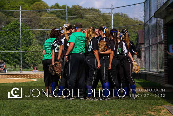 20150515 - CF Softball vs Tiffin Columbian - Sectionals