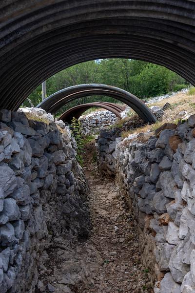 WWI trenches in Goriska Brda