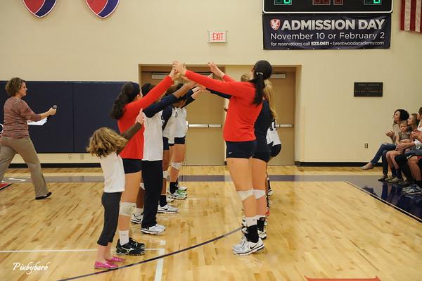 BA Senior Night Volleyball 2012 vs HH