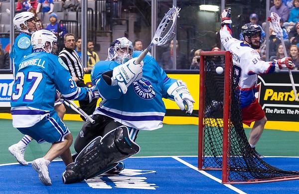 Rochester Knighthawks @ Toronto Rock 15 February 2014
