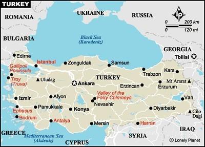 Kusadasi - Efesus; Türkay; TR;