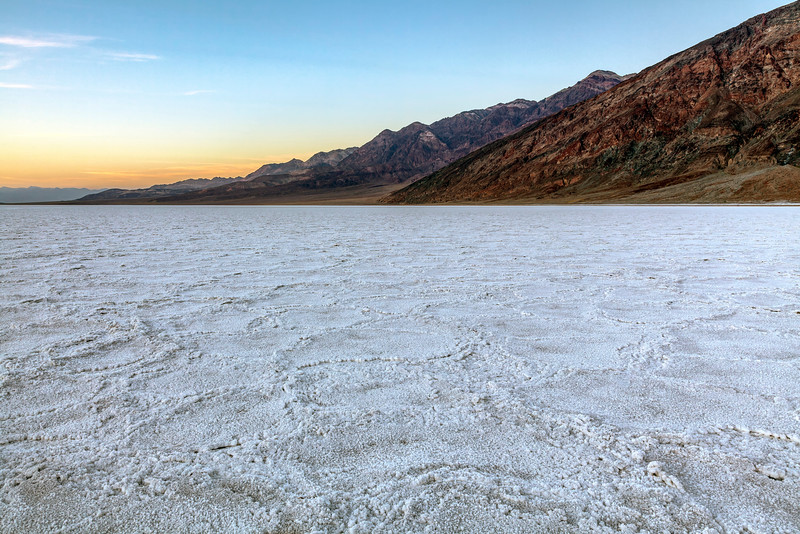 Dusk at Badwater Basin