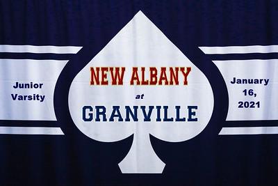 2021 Junior Varsity - New Albany at Granville (01-16-21)