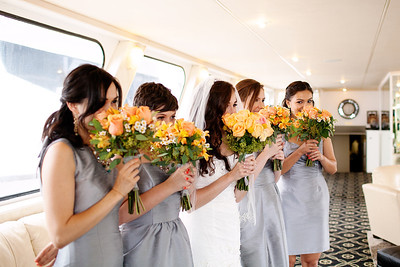 Tamar and Leo FantaSea Yacht Club Wedding