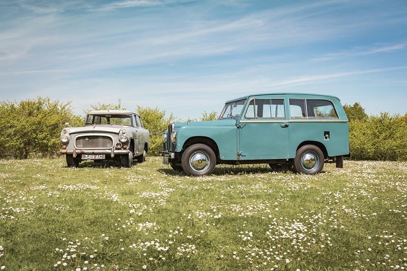 Road Rover prototypes