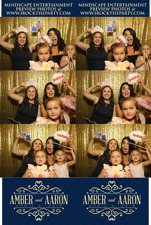 Aaron and Amber's Wedding - Photo Booth Pictures