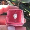 2.01ct Antique Pear Shape Diamond GIA G VS1 23