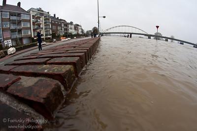 Hoog water 2011
