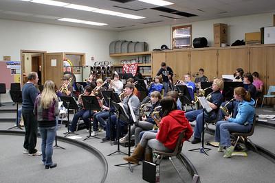 High School Classes - 2008-2009 - 1/19/2009 Band