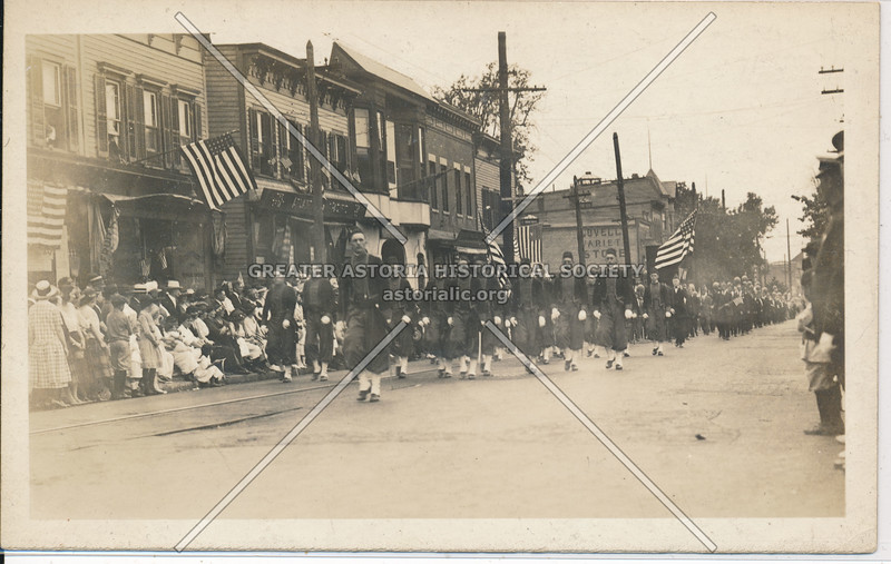 Parade along Richmond Ave.,  Port Richmond