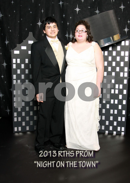 """2013 RTHS PROM - """"NIGHT ON THE TOWN"""" - THE FORMALS"""