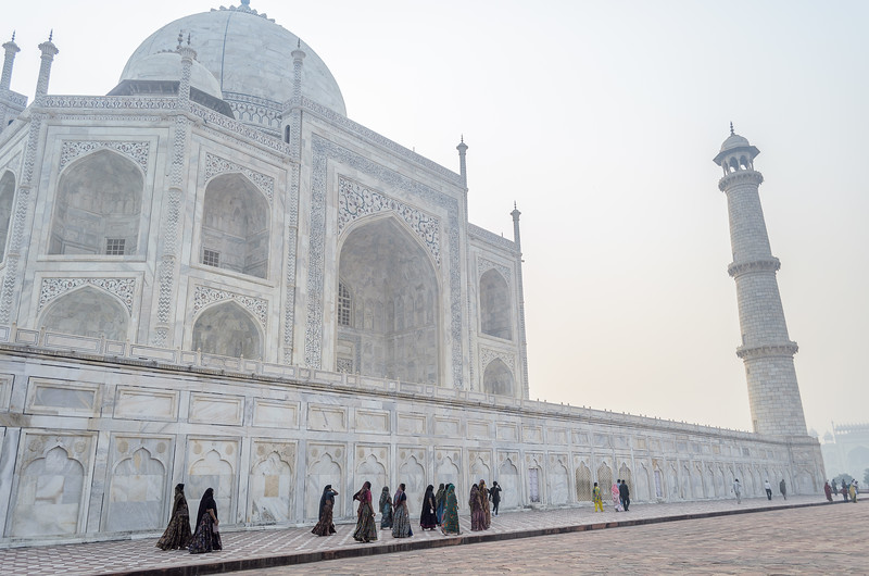 Visiting the Taj || Agra