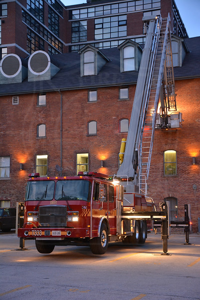 May 19, 2013 - 3rd Alarm - 468 Queen St. E.