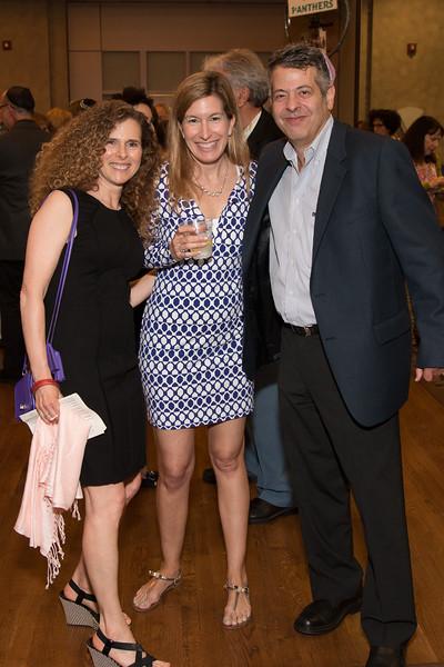 Robin Lerner, Arielle Grill, Jim Lerner -- Tour de Rudolph -- Retirement tribute for Rabbi Bill Rudolph, Congregation Beth El, Bethesda, MD, May 17, 2015