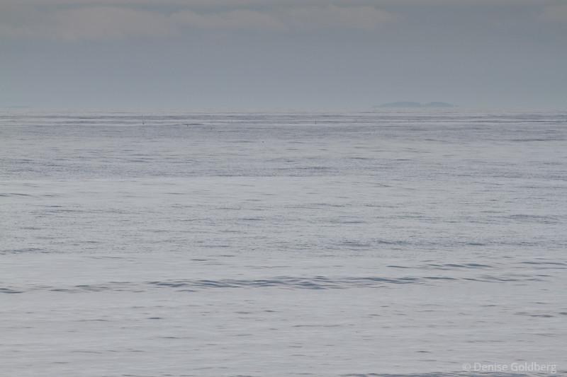 ocean and sky, blended, soft