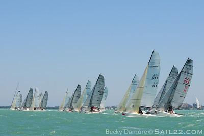 Bacardi Miami Sailing Week 2011-Melges 20